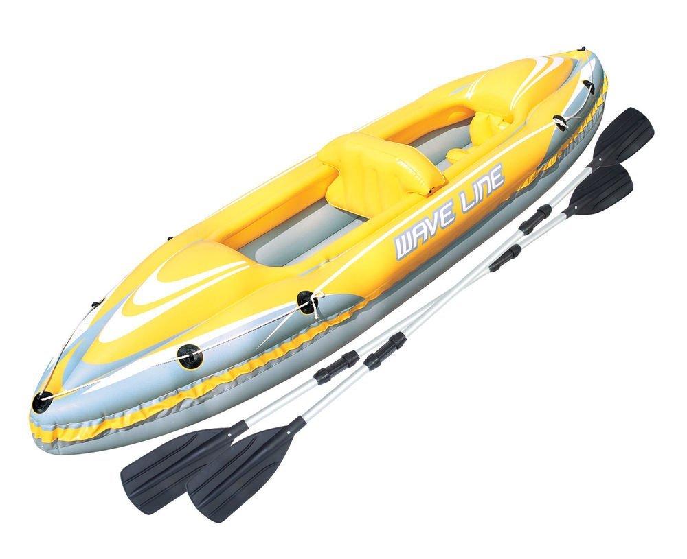 Bestway Kayak Wave Line 2 plazas cm.357 x 77 con canoa: Amazon.es ...