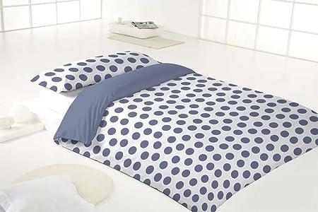 Más Relax Step Funda nordica cama de 90 más funda almohada, Poliester- Algodón, Azul, 90: Amazon.es: Hogar