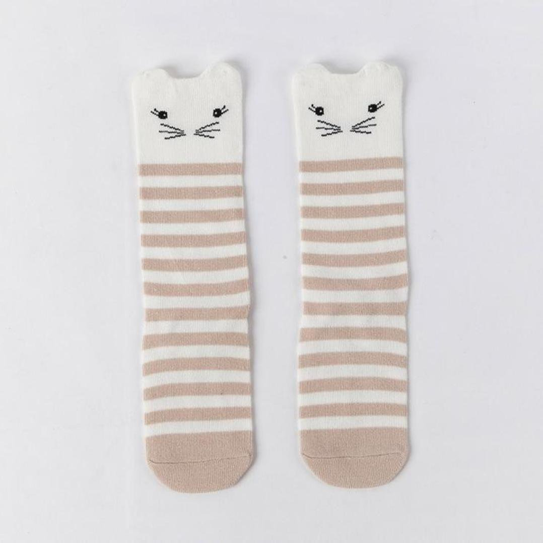 Becoler Boys 4 Pairs warm Socks Cute Animals Girls Socks