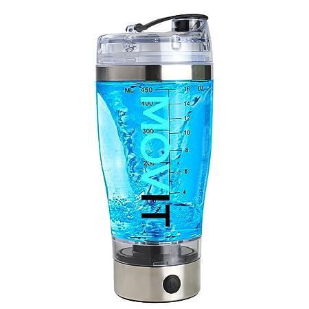 Movit Shaker Electrico USB - vaso mezclador proteinas coctelera ...