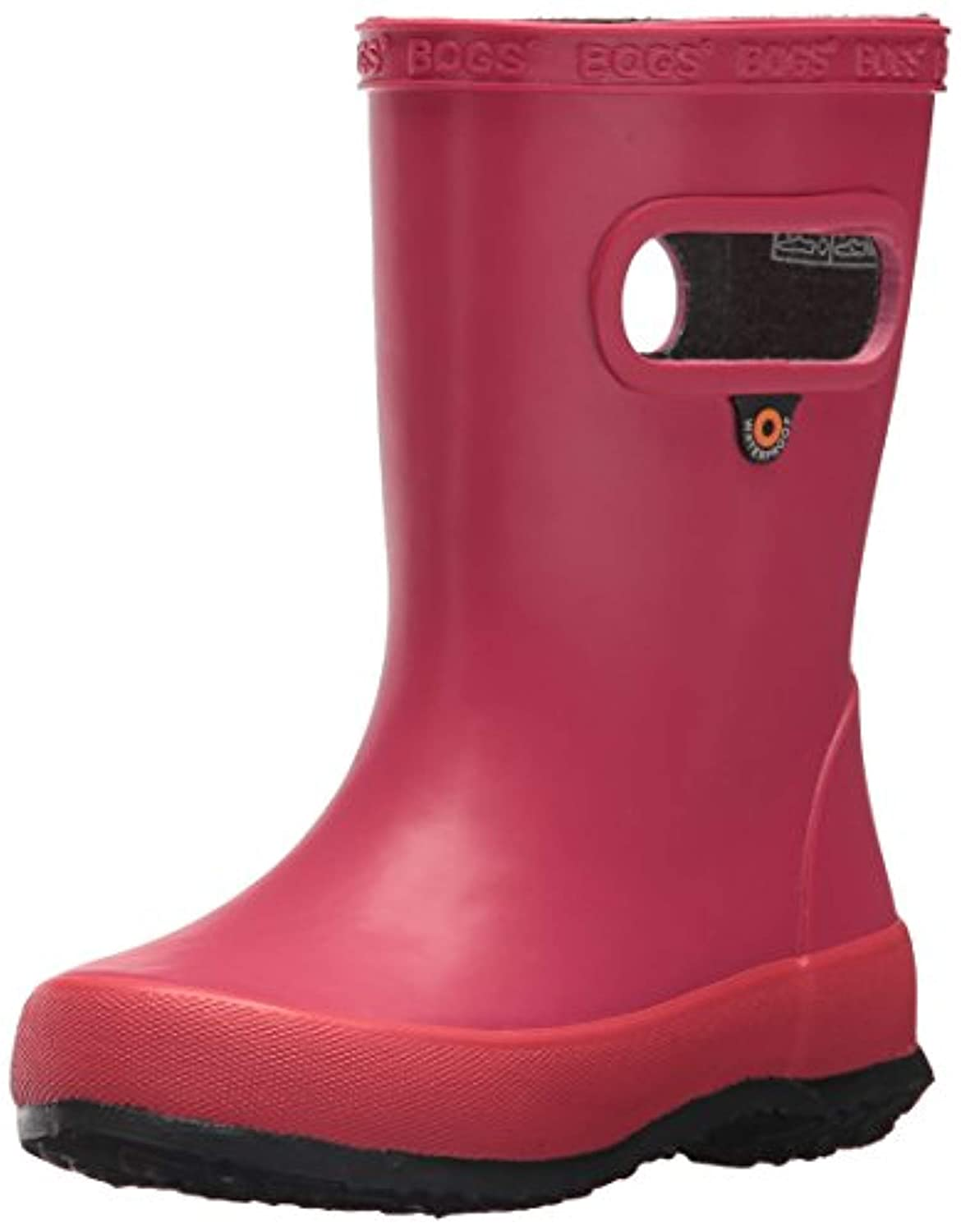 rain boots Bundle Bogs Kids Skipper Solid Boot /& Packable Umbrella