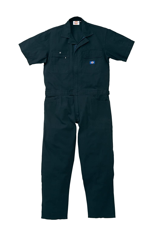 712 Dickies ディッキーズ 夏用 半袖つなぎ 作業着ツナギ ユニフォーム 【S~5Lサイズ展開】 B00HC8XTQU 3L|ネイビーブルー