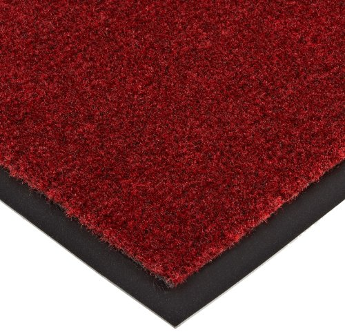 - NoTrax T37 Fiber Atlantic Olefin Entrance Carpet Mat, for Wet and Dry Areas, 3' Width x 5' Length x 3/8