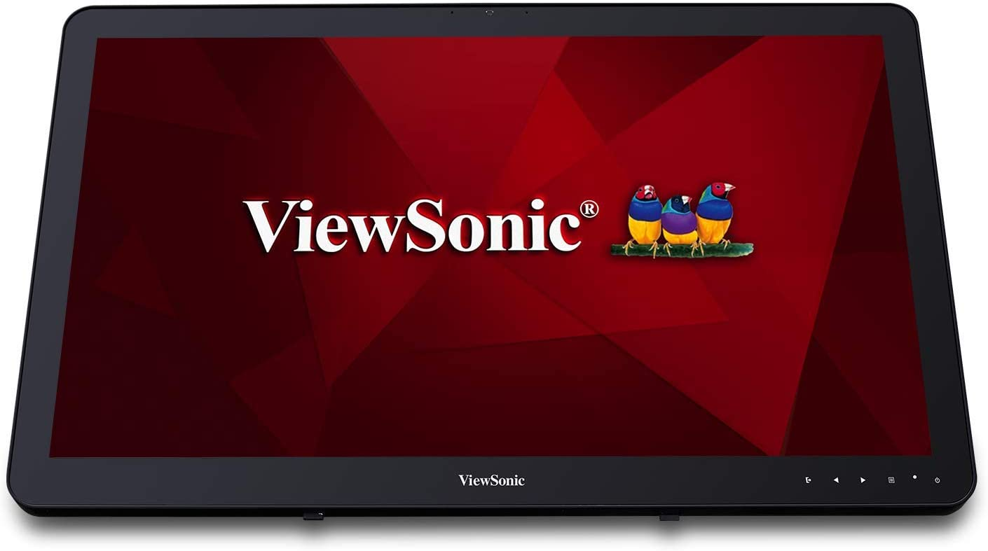 ViewSonic VSD242-BKA-US0 24 Inch 1080p 10-Point Touch Smart Digital Display with Bluetooth Dual Band Wi-Fi and Android Oreo 8.1 OS, Black (VSD243-BKA-US0),Medium