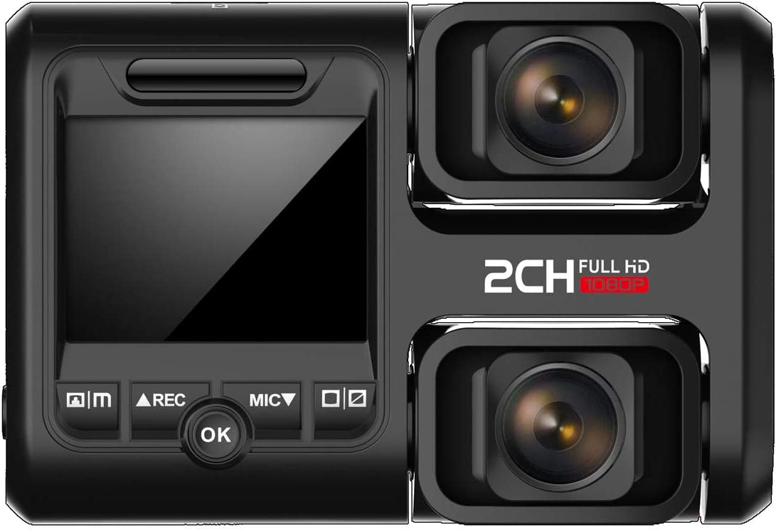Hofound Dash Cam Full Hd 1080p Front And 1080p Rear Elektronik
