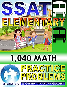image about Printable Ssat Practice Test titled SSAT Fundamental - 1,040 Math Train Difficulties ( Tests for Grades 3 and 4 )