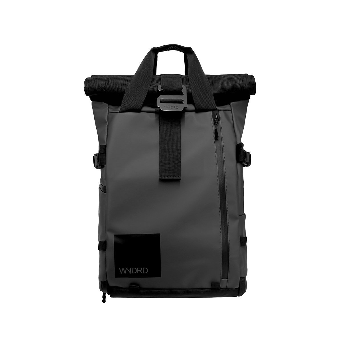 PRVKE Travel and DSLR Camera Backpack with Laptop/Tablet Sleeve and Rain Cover. Rugged Photography Bag. (21L, Black)