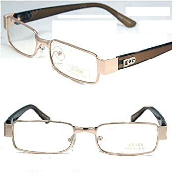 47043b667e Image Unavailable. Image not available for. Color  Mens Womens DG Clear  Lens Frames Glasses Designer Fashion Optical ...