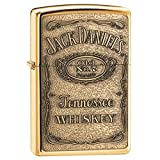 Personalized Jack Daniels Label Emblem - HP Brass LIGHTER - Free Engraving