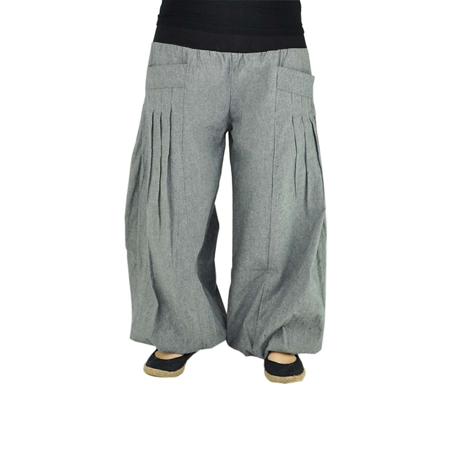 839911eeeba37 virblatt Wide Leg Pants Womens Yoga Pants as Alternative Clothing (Sizes  S-L) yogazeit