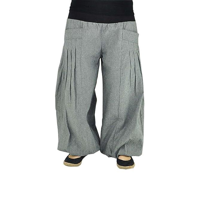 virblatt Pantalones Yoga Unisex Hechos de algodón Cómodo de Usar. Pantalones Yoga Yogazeit