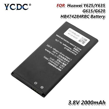 6a888f8b0ce Amazon.com: 2Pcs HB474284RBC Battery for Huawei Y550 Y560 Y625 Y635 ...