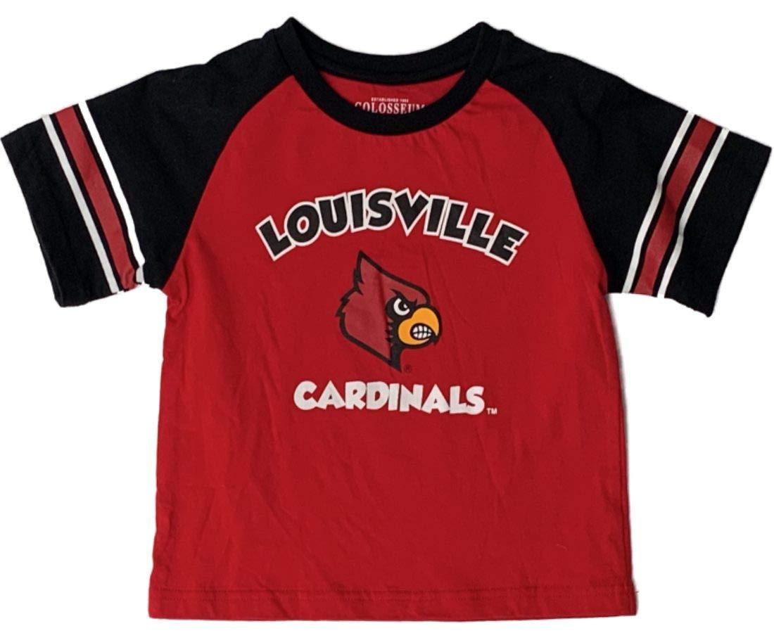品質のいい Lousiville Lousiville Cardinalsコロシアム幼児用レッド&ブラックSSクルーネックTシャツ(3t) B071W9XTPJ, シルバーアクセサリーFIGMART:03ef3ed5 --- a0267596.xsph.ru