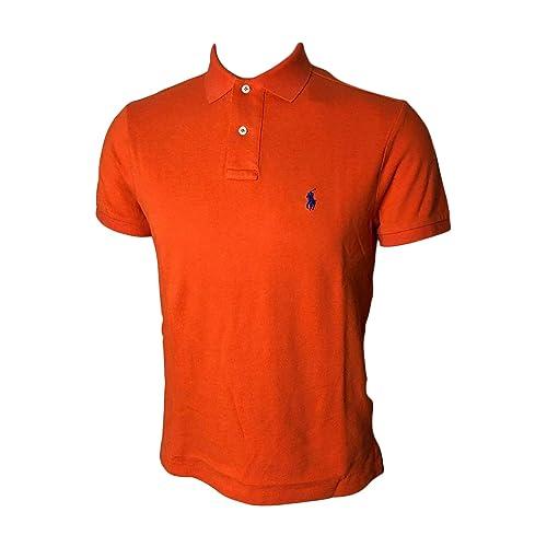 a8242f22 ... spain polo ralph lauren mens custom slim fit mesh polo shirt 7fda1 44947