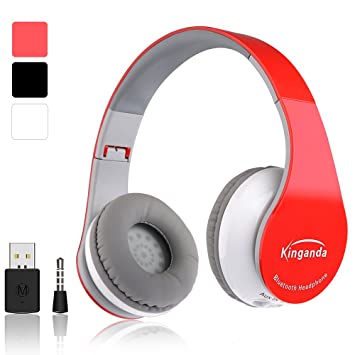 Auricular inalámbrico PS4 auricular inalámbrico Bluetooth auricular de juego plegable micrófono manos libres AUX con PS4 Bluetooth Dongle micrófono para ...