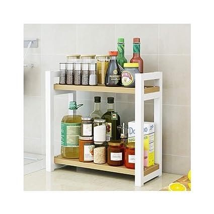 pretty nice b7da6 0cf2e Amazon.com: ZXMDMZ Spice Rack- Kitchen Storage Shelf for ...