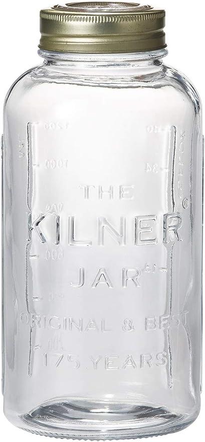 """Vetro Edizione /""""Anniversary/"""" Transparent Kilner 0.05 Litre Contenitore per Conserve"""