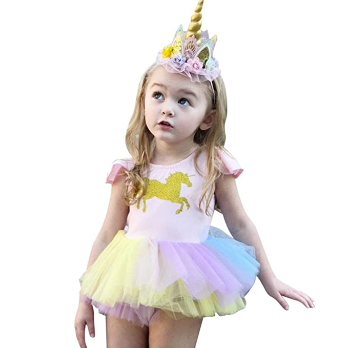 Ropa Bebe Recien Nacido Niña K-youth® Vestido Bebe Niña Ropa Bebe Niña Verano
