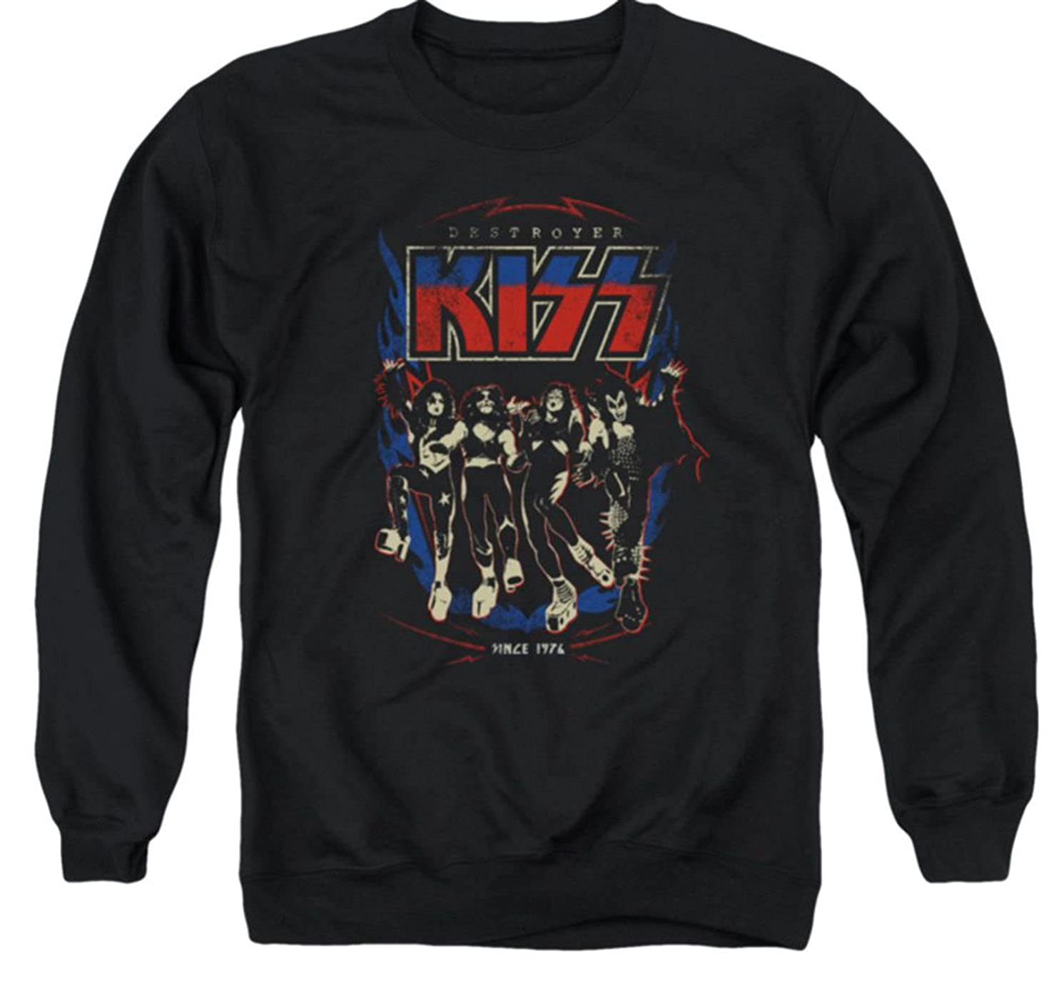 TeeShirtPalace Sweater Destroyer Kiss