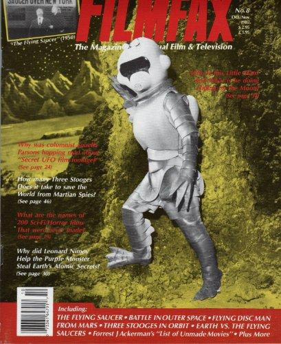 Filmfax Magazine, Issue #8 (Mars Flying Saucer Disc)