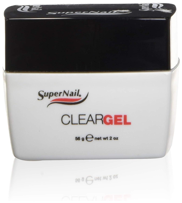 SUPERNAIL Clear Nail Gel, 0.5 oz. SU-630470