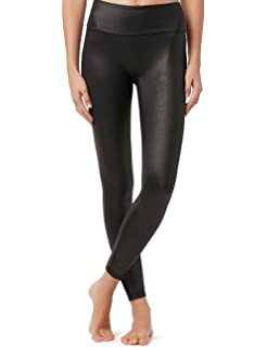 a279db30a25ee3 Amazon.com: CALZEDONIA Womens Thermal Leather-Effect Leggings: Clothing