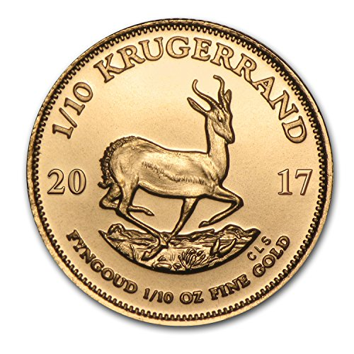 2017 ZA South Africa 1/10 oz Gold Krugerrand Gold Brilliant Uncirculated ()