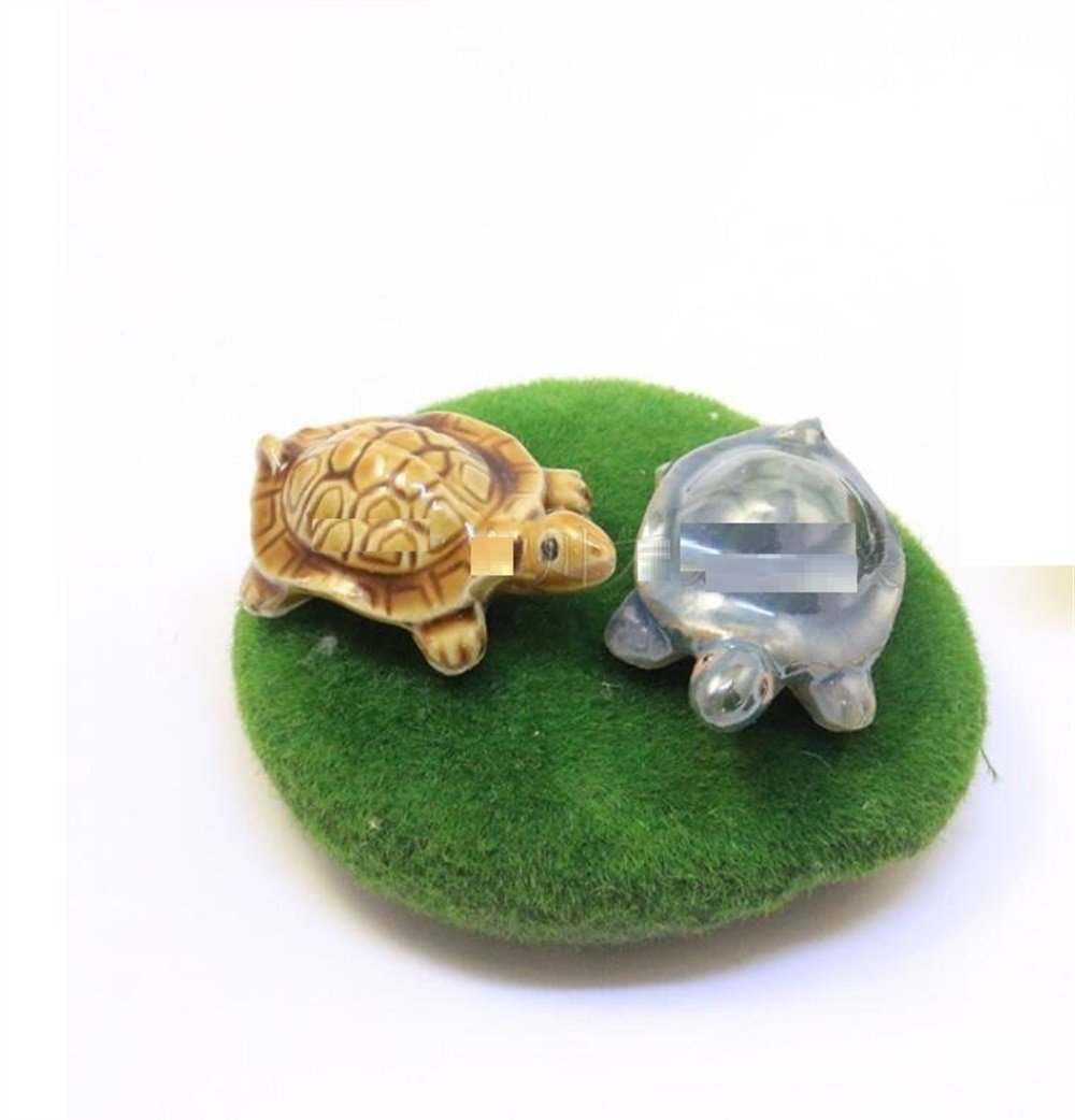 Decoración del tanque de peces Animal del ornamento de la tortuga de ...