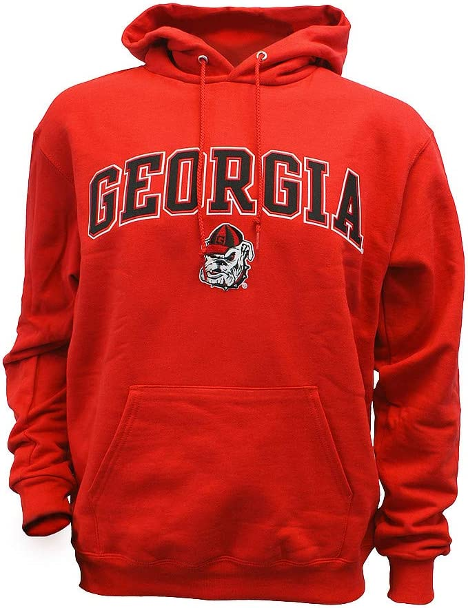 Elite Fan Shop NCAA Mens Hoodie Sweatshirt Team Applique Captain