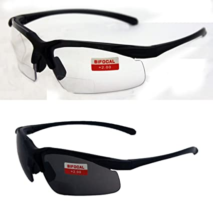 c0c6f967bd Amazon.com  Two Pairs of Apex 2.0 Bifocal Safety Glasses