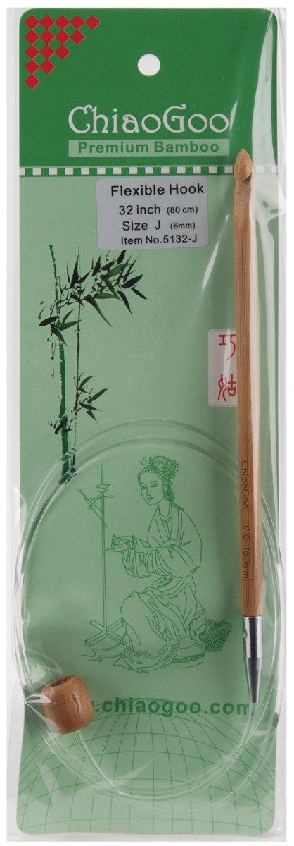 Chiaogoo - 5132-J agujas tunecinos flexibles de 6 mm