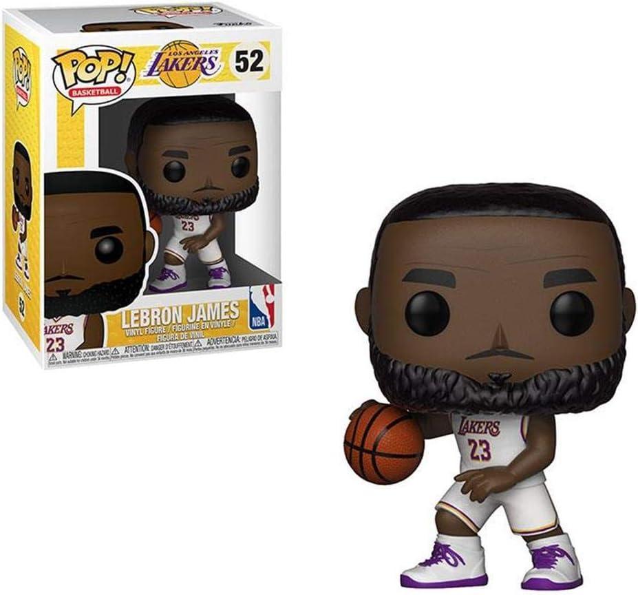 Funko NBA Pop Lebron James, Multicolor, Talla única (37271 ...