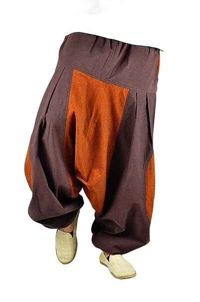 virblatt Pantalones Bombachos Mujer Chandal Pantalones cagados pantal/ón Harem Mujer Stampfgewand SMgy