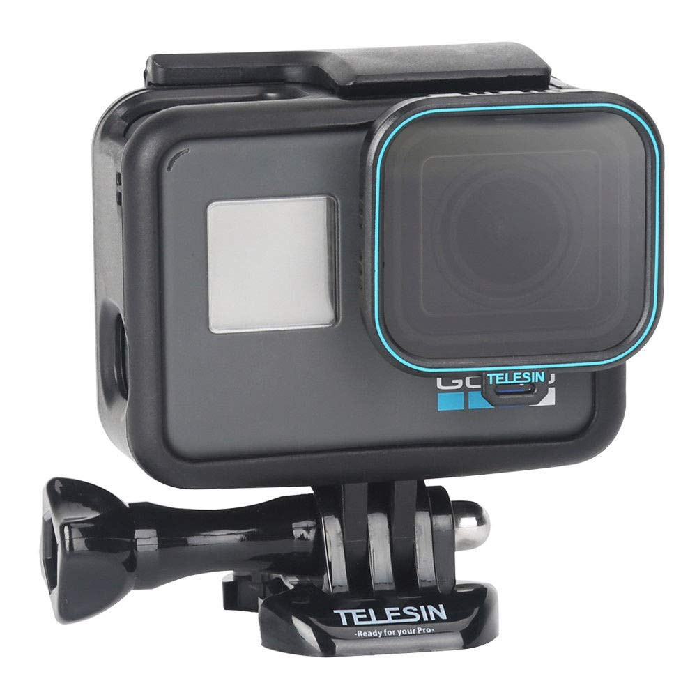 GoPro Hero 5 Hero 6 CPL Lens Filter, TELESIN Slim Clear Camera Lens Protector Circular Polarizer Filter (CPL) for GoPro Hero 5 Hero 6 Hero Camera Accessories NXET ls-cpl-gopro6-tlsn