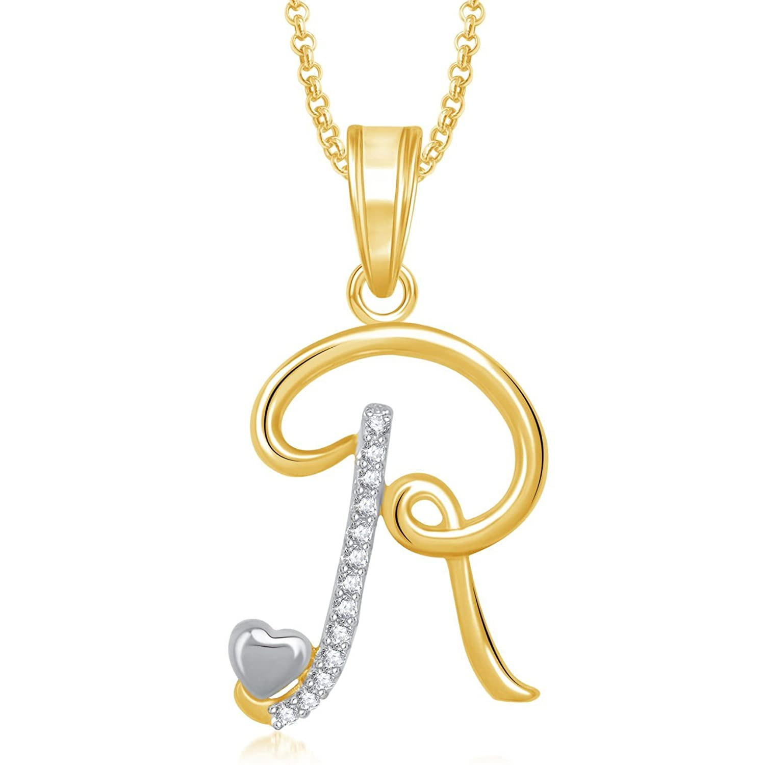 Buy valentine gifts amaal b alphabet pendant for women and men buy valentine gifts amaal b alphabet pendant for women and men with chain ps0323 online at low prices in india amazon jewellery store amazon mozeypictures Gallery