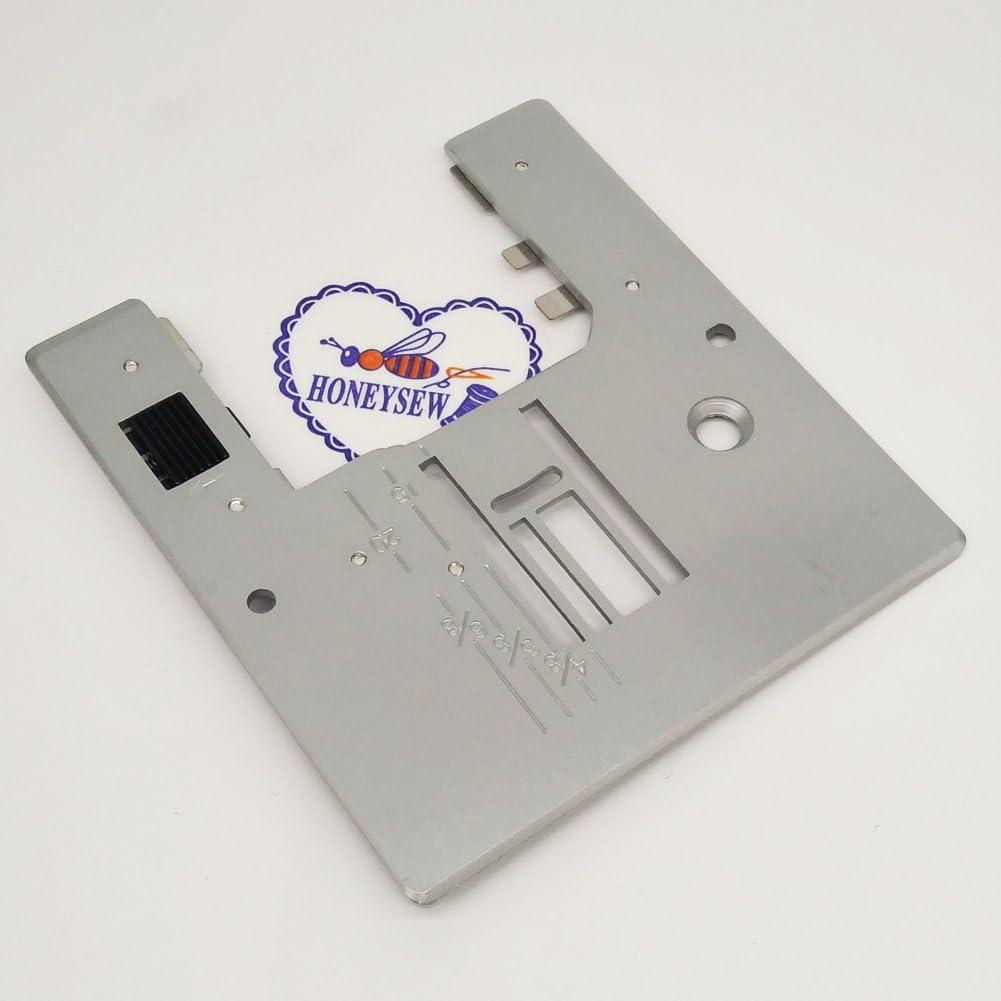 3007 Janome HONEYSEW Needle Plate for Elna 3005 MW3018 6147 Newhome 3023 3006 3123 MyExcel 18W