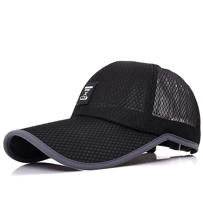 sombrero de los hombres/Malla de ventilación tapa de verano/ al aire libre sombra