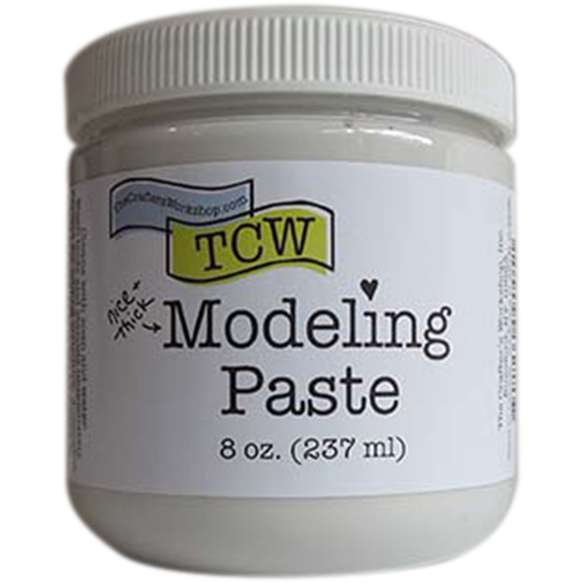 Crafter's Workshop, The Modeling Paste 8oz White