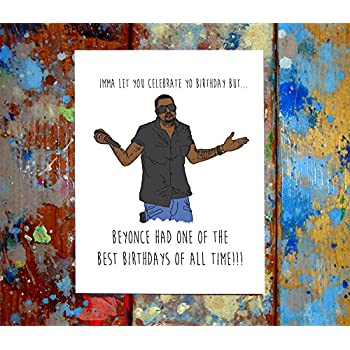Amazon 2 Pack Kanye Kim Kardashian Birthday Greeting Cards