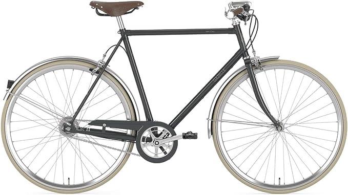 GAZELLE Van Stael T7 Nexus FL - Bicicleta de Trekking 2020, Color Gris, tamaño 28