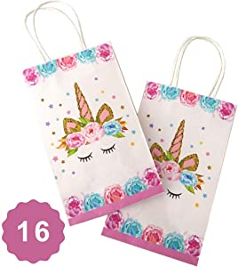 Giveaway: United Unicorns Best Unicorn Party Bags with Handles Serves...