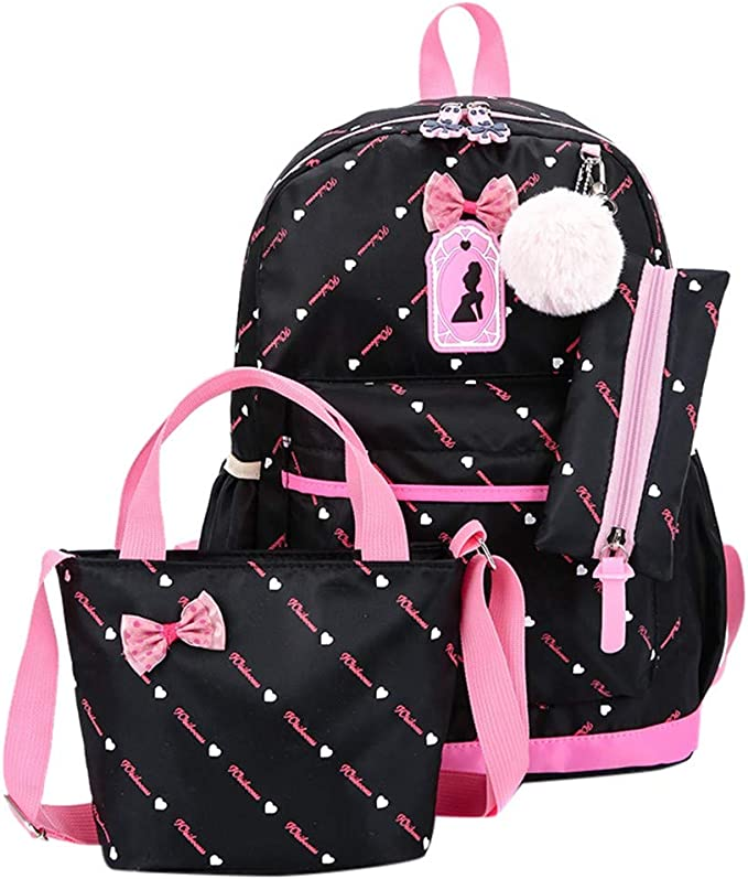 KEAKIA Women PU Leather Pink Flamingo Backpack Purse Travel School Shoulder Bag Casual Daypack