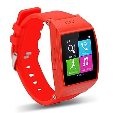 TECOMAX Fashion Aplus reloj inteligente apoyo SIM/T-Flash 32 GB Bluetooth sincronización inteligente