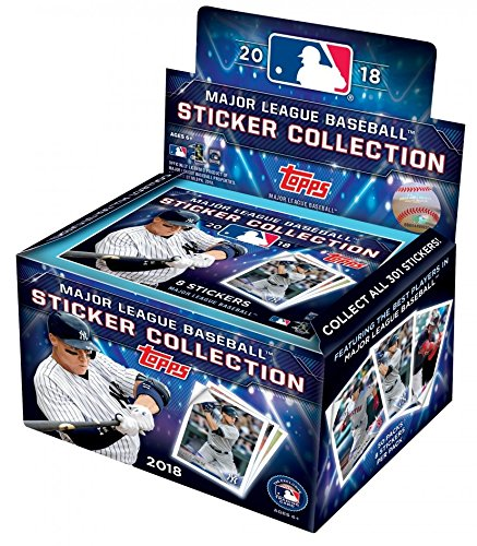 ONE PACK - 2018 TOPPS BASEBALL - STICKER PACK - 8 STICKERS PER (Topps Baseball Sticker)