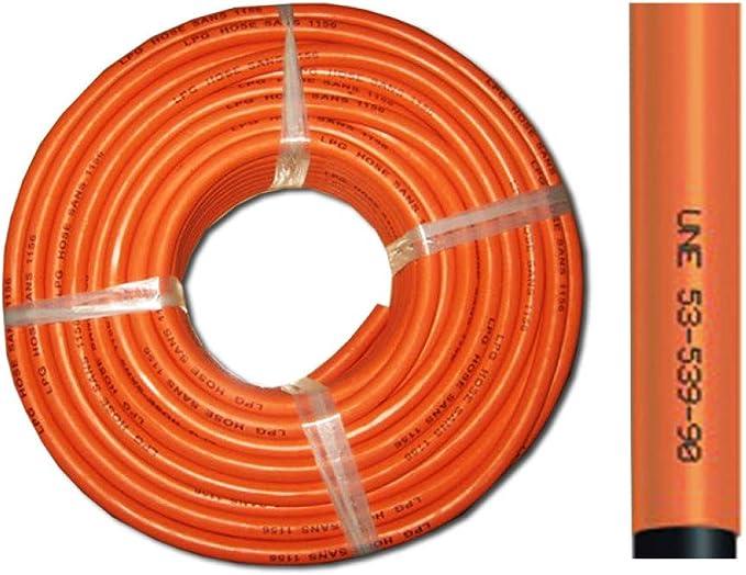 EDP 0 Manguera DE Gas BUTANO 9X15 MM, Naranja: Amazon.es: Jardín