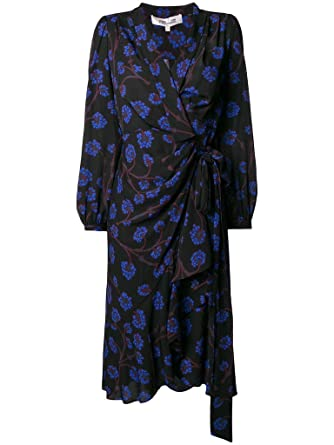 01cacaca01 Image Unavailable. Image not available for. Color  Diane von Furstenberg  Carla High Low Wrap Dress ...
