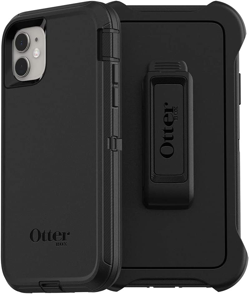 OtterBox Defender Series Screenless Edition Case for iPhone 11 – Black