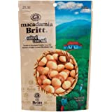 100 Percent Premier Whole Gourmet Salted Macadamia nuts from Costa Rica by Cafe Britt, 5 ounces