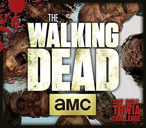 Walking Dead - Trivia Challenge - 2017 Daily Desk Calendar
