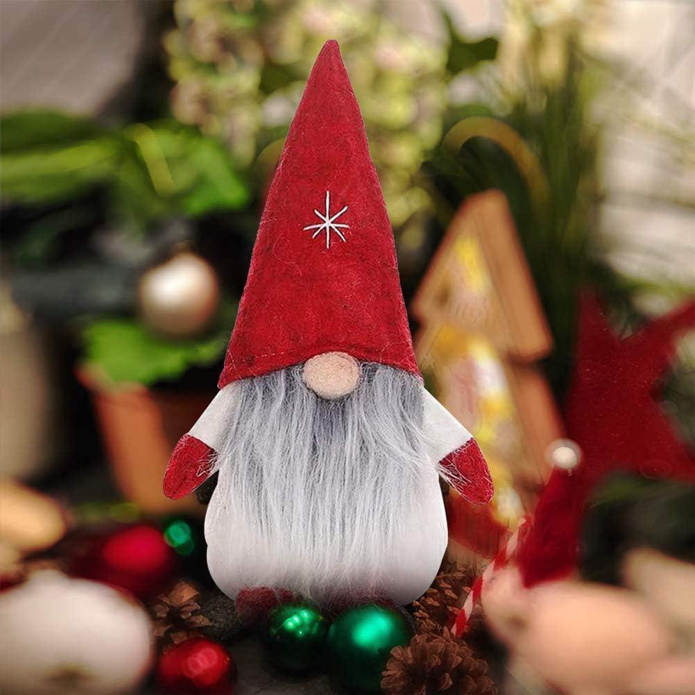 red, 1 PC Swedish gnome Santa dolls ZSWQ-Weihnachten Deko Wichtel from Christmas figure Dwarf more beautiful Christmas decoration for home shop window kids birthday Christmas